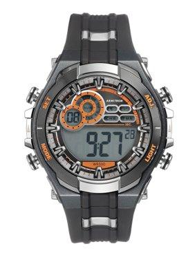 Armitron Men's Multi-Functional Digital Gray and Black Watch