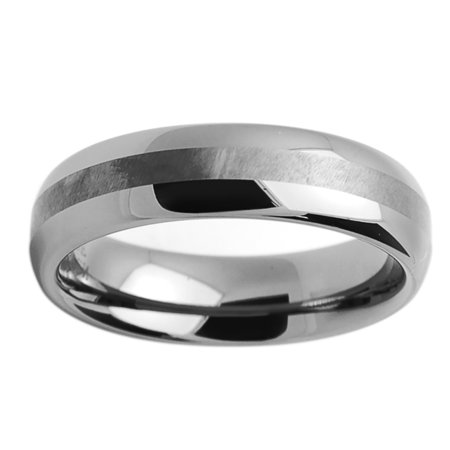 Free Engraving Men Women Personalized Inside Engraving Tungsten Carbide Wedding Band Ring 6mm Domed Ring 6 Mm Engraved Band