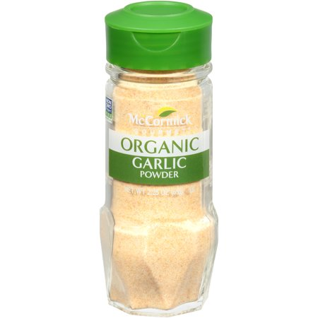 McCormick Gourmet Organic Garlic Powder, 2.25 oz (Simply Organic Garlic)