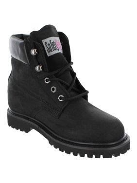Safety Girl II Steel Toe Waterproof Women's Work Boots - Black - 10.5M