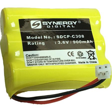 Energizer ER-P240 Cordless Phone Battery Ni-CD, 3.6 Volt, 900 mAh - Ultra Hi-Capacity - Replacement for AT&T, Panasonic, VTech 80-5071-00-00, RadioShack 23-298 Rechargeable Batteries