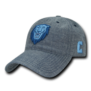 7ff97e8ee0e7af NCAA Columbia University Lions Curved Bill Relaxed Denim Baseball Caps Hats