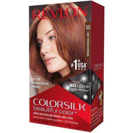 Revlon Colorsilk Beautiful Color Permanent Hair Color 55 Light