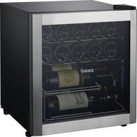Galanz 16-Bottle Wine Cooler GLW18S, Stainless Steel Steel Door
