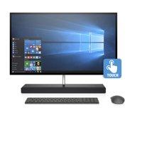 HP Ash Silver Sparkle Touch All in One PC, Windows 10, Intel Core i7-8700T Processor, 16GB Memory, 256GB SSD + 1TB Hard Drive, NVidia GTX1050 Graphics , Envy 27-B210
