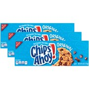 (3 Pack) Nabisco Chips Ahoy Chocolate Chip Cookies Convenience Pack, 6 oz