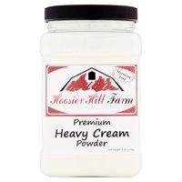 Hoosier Hill Farm Heavy Cream Powder, 1 lb plastic jar