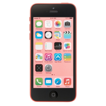 Apple iPhone 5c 16GB Unlocked GSM Phone w/ 8MP Camera - Pink (Certified Refurbished) ()