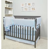 Product Image American Baby Company Heavenly Soft Minky Dot 6 Piece Crib Bedding Set