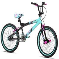 "Kent 20"" Girls', Tempest Bike, Black/Green, For Ages 8-12"