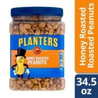 Planters Honey Roasted Peanuts 34.5 oz Jar