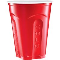 Solo Squared Red Party Cups, 18 Oz, 50 Count