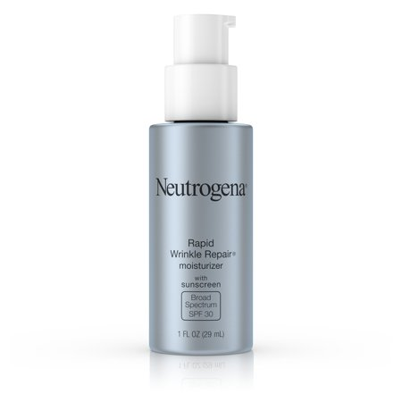 Neutrogena Rapid Wrinkle Repair Face & Neck Moisturizer SPF 30, 1 fl. (Best Soothing Face Cream)