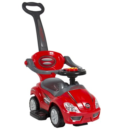 Best Choice Products Kids 3 In 1 Indoor Outdoor Push Car