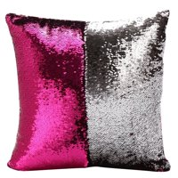 Tommyfit Two Tone Glitter Sequins Home Decor Pillow Covers