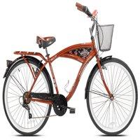 """BCA 26"""" Men's, Margaritaville Bicycle, Orange"""