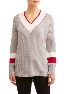 Women's Varsity Stripe Tunic Sweater