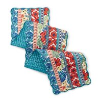 """The Pioneer Woman Dazzling Dahlias Reversible Table Runner, 14""""W x 72""""L"""