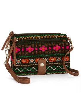 Product Image No Boundaries Multi Woven Wristlet Crossbody b12792c2d0