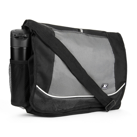 - Universal Multi-purpose Canvas Messenger Shoulder Bag fits 15, 15.6, 16 inch Laptops / Notebooks / Ultrabooks