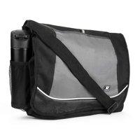 Universal Multi-purpose Canvas Messenger Shoulder Bag fits 15, 15.6, 16 inch Laptops / Notebooks / Ultrabooks