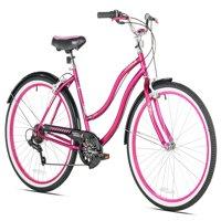 "Susan G Komen 26"" Women's, Cruiser Bike, Bright Pink"