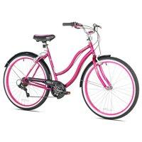 """Susan G Komen 26"""" Women's, Cruiser Bike, Pink"""
