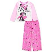 3cc0ba012 Disney Minnie Mouse Girls  2-Piece Pajamas