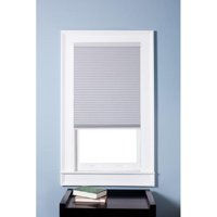 """Arlo Blinds Single Cell Blackout White Cordless Cellular Shades,18""""Wx48""""H"""
