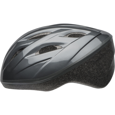 Bell Reflex Bike Helmet, Light Titanium, Adult 14+ (57-60cm) - Mega Man Helmet
