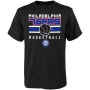 163618228 Youth Black Philadelphia 76ers Alternate T-Shirt