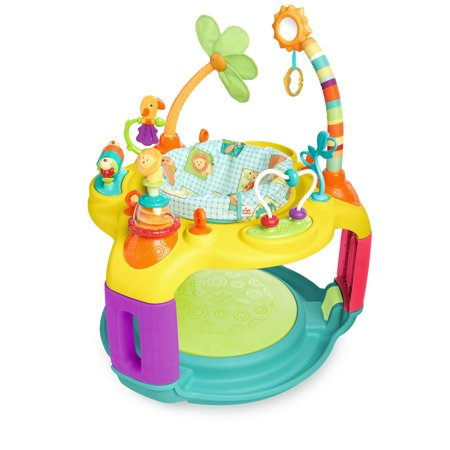Bright Starts Bounce-A-Round Activity Saucer - Springin' (Bright Starts Bounce Bounce Baby Activity Station)