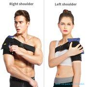 9b433a6ce8 Shoulder Support Band, Breathable Shoulder Brace, Back Support Pressure  Compression Pad, Shoulder Joints