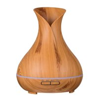 Sawpy 400ml Aromatherapy Essential Oil Diffuser, Ultrasonic Cool Mist Humidifier