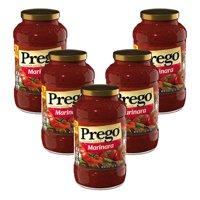 (5 Pack) Prego Marinara Italian Sauce, 23 oz.