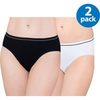 Panty Ladies Seamless Bikini Panty, 2pk