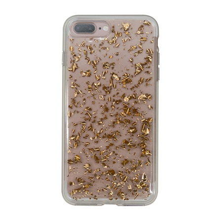 Onn Lightweight Slim Clear Case For iPhone 7 Plus/8 Plus, Rose Gold