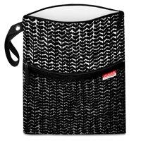 Skidaddle by Skip Hop Wet/Dry Bag, Black Vine