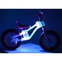 "KaZAM 12"" Child's, Blinki Balance Bike with Multi-Colored LED Lights, Pink, For Ages 2-5"