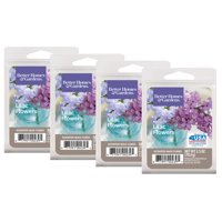 Better Homes & Gardens 2.5 oz French Lilac Flowers Scented Wax Melts, 4-Pack