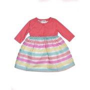 9306f8607f0 Burnout Ribbon Easter Dress and Cardigan