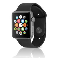 (Refurbished) Apple Watch Sport Series 2 42mm Aluminum Case with Black Band