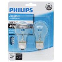 Philips A15 Incandescent Appliance Light Bulb
