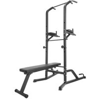 Titan Power Tower Bench Workout Station Pull Up Dip Station Home Gym Strong