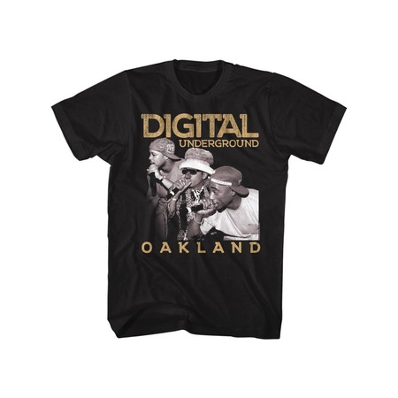 Digital Underground Music Oakland Adult Short Sleeve T Shirt (Tall And Short Halloween Costumes)