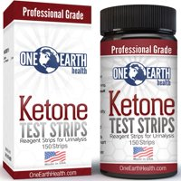 Ketone Test Strips For Keto Diet, Diabetics and Ketogenic Measurement, 150 Ct