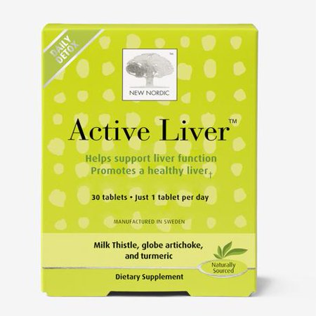 New Nordic ActiveLiver, 30 Ct (Strengthen Liver)