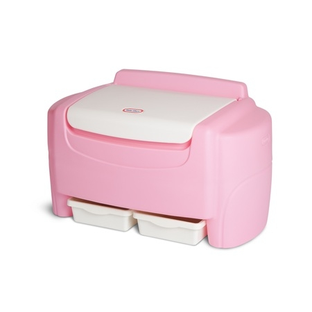 Little Tikes Pink Sort 'n Store Toy Chest](Pink Storage Boxes)