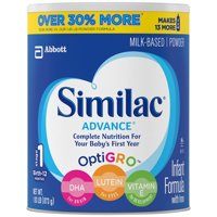 (Buy 2, Save $4) Similac Advance Infant Formula with Iron, Powder, 1.93 lb (2-pack)