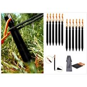 (Pack of 12) Aluminum Tent Stakes Pegs dd85dd2ebbd